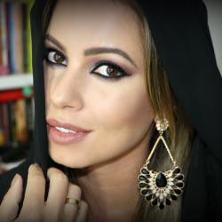 Maquiagem Árabe | Smokey Eyes Azul