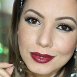Maquiagem Completa Noite | Esfumado Prático e Batom Marcante