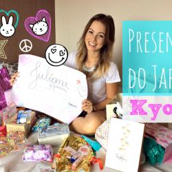 Abrindo os Presentes do Japão| Encontro de Kyoto