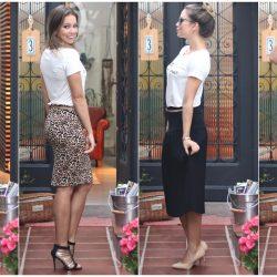 Modelos de Saia | Saia Lápis, Saia Midi e Saia Longa
