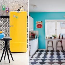 Decoração Cozinha | Eletrodomésticos Coloridos