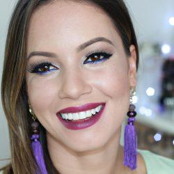 Maquiagem SPFW | Delineado, Cor e Batom Poderoso