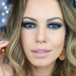 Como Fazer Maquiagem Smokey | Esfumado Azul