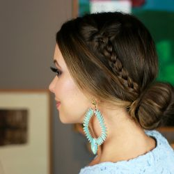 Coque com Trança | All Things Hair