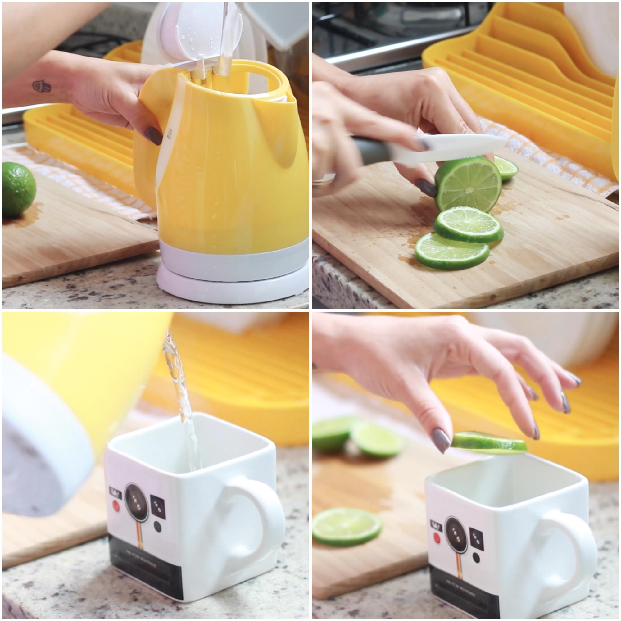 Resultado de imagem para agua morna com limão