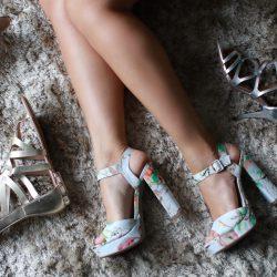 Sapatos da Moda   Plataforma, Gladiadora e Metalizados