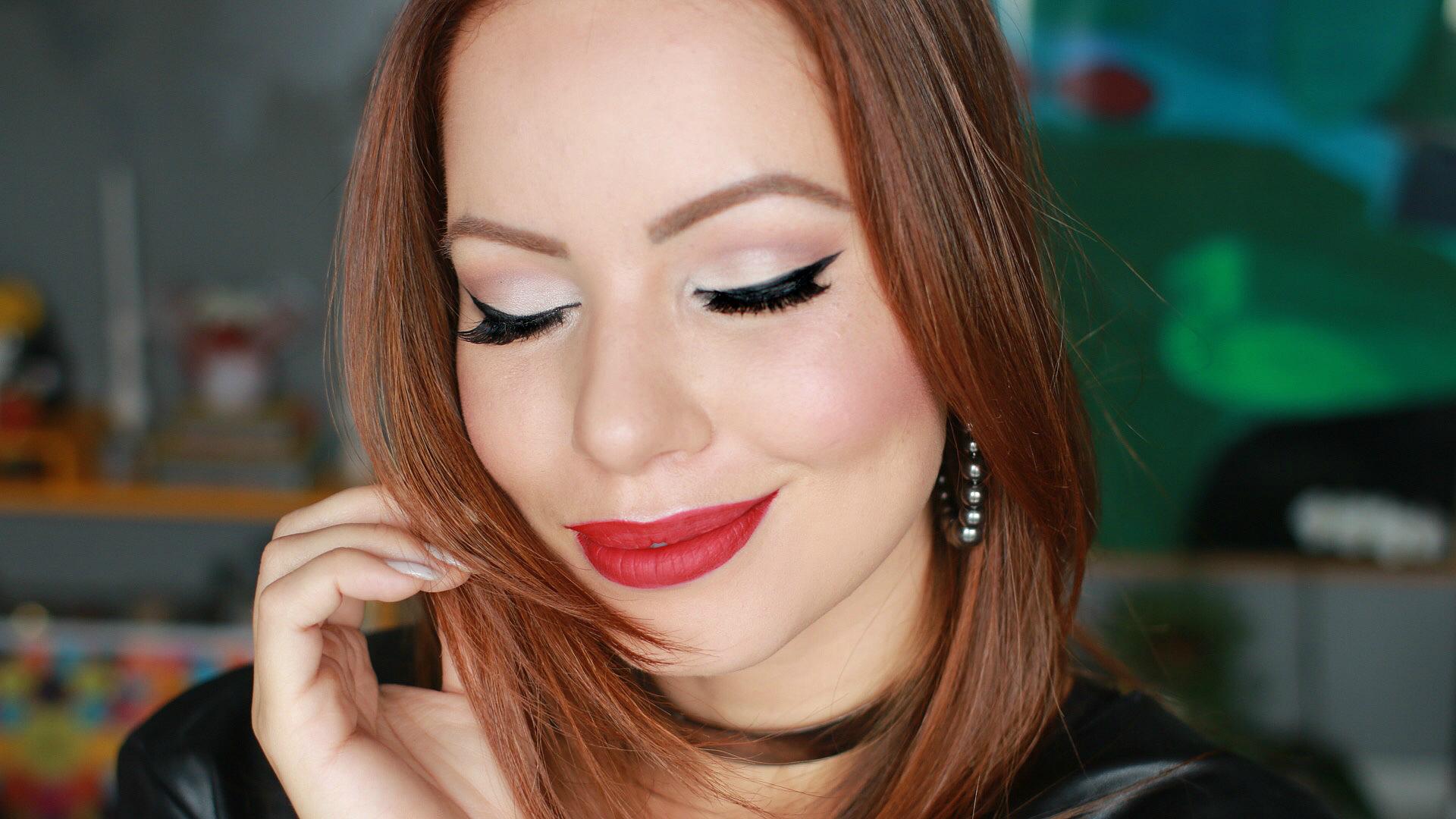 ... tutorial de maquiagem | blog de maquiagem | delineador | batom