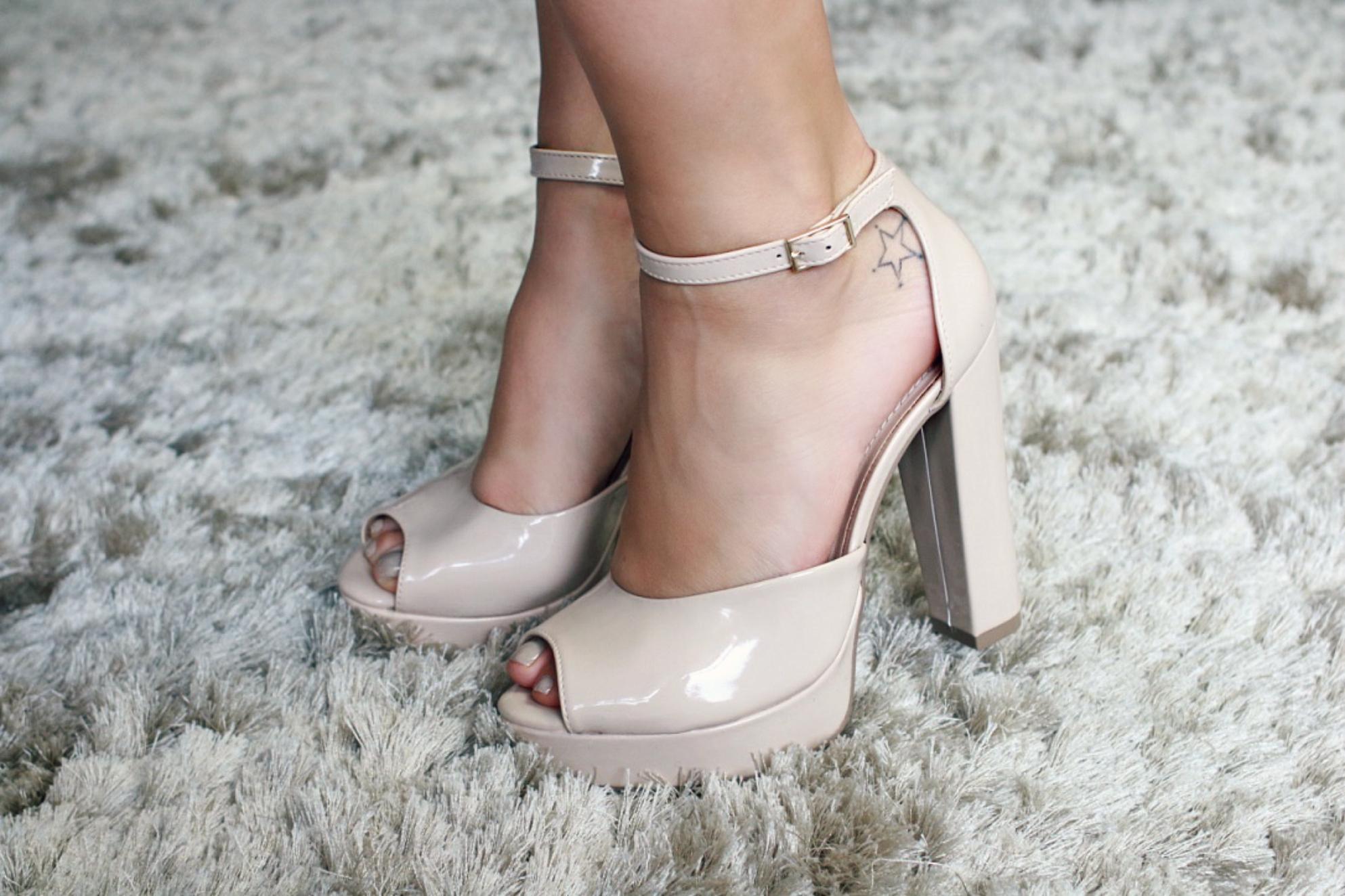 ce134114e8 Sapatos Lindos do Mês