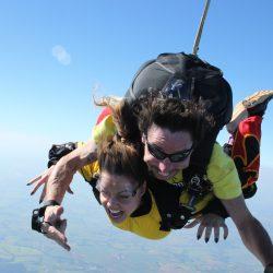 Saltar de paraquedas! Nunca?! Superação e Coragem