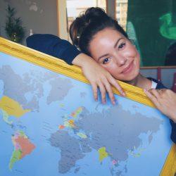 Mapa Mundi Raspadinha | Minhas Viagens pelo Mundo por Juliana Goes