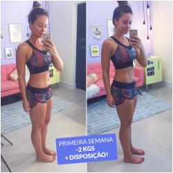 Primeira Semana de Dama Fitness   -2 Kgs e mais Disposição
