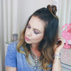Trança Dupla com Half Bun | All Things Hair
