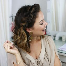 Penteado Fácil para Festa | All Things Hair