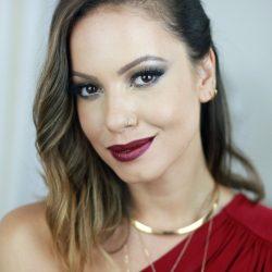 Maquiagem de Natal | Juliana Goes