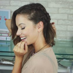 Penteado com Trança Dupla | All Things Hair