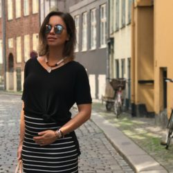 LOOK MAMI DO DIA | Moda Gestante 17 Semanas