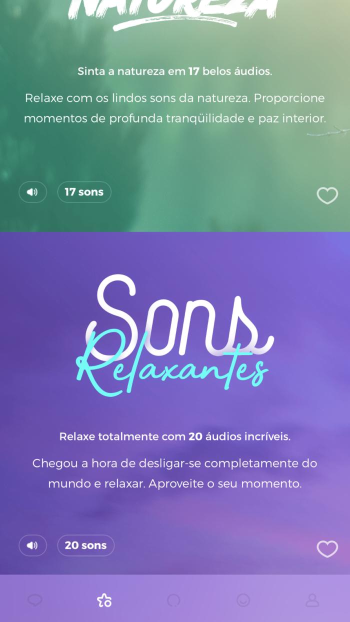 sons relaxantes | Zen app
