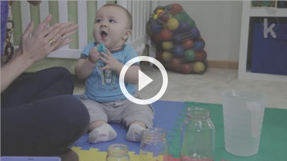 brincadeira coordenação motora fina bebê