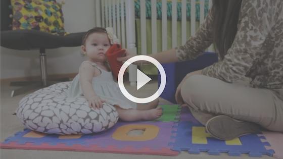 estimular os sentidos do bebê com texturas