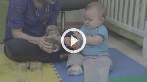 educação infantil - brincadeira dentro do pote