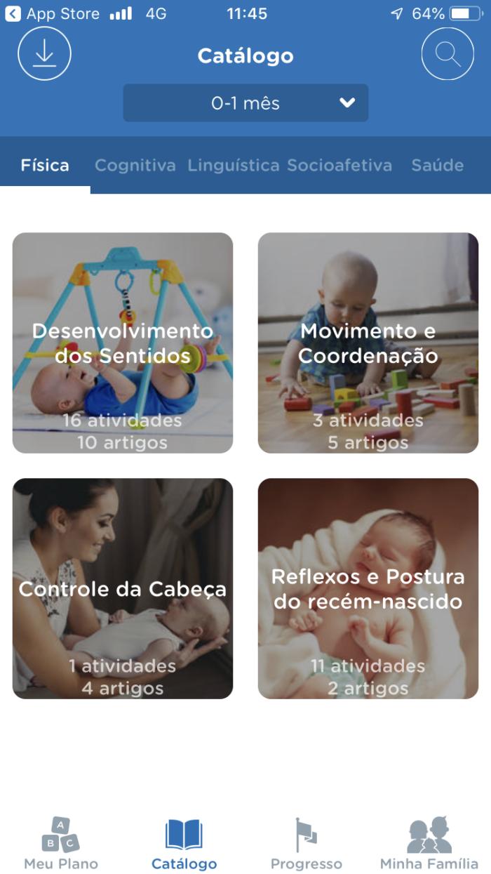 fatos curiosos sobre o bebê recém-nascido - catálogo Kinedu