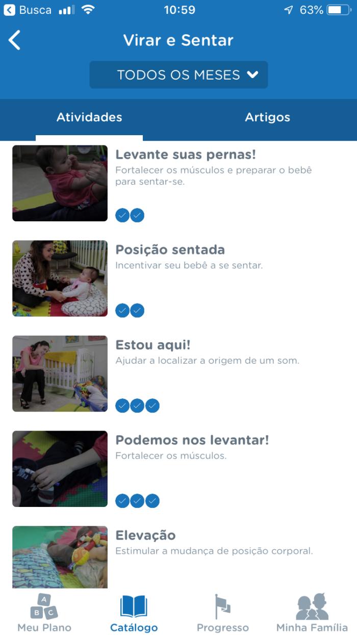 atividades para ajudar o bebê a sentar
