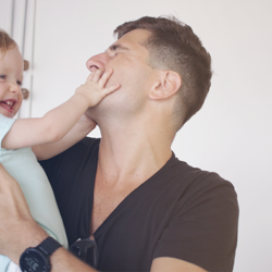 DESAFIO DO PAPAI | Três brincadeiras com bebê