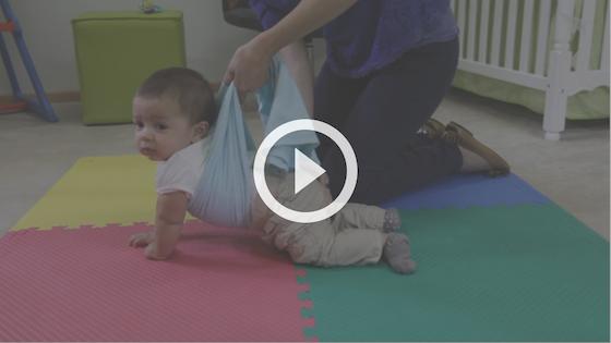 desenvolvimento infantil - atividade em quatro apoios
