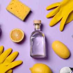 Limpeza de casa com produtos naturais