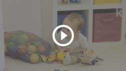 trabalho e maternidade - atividade brincando de esconde-esconde