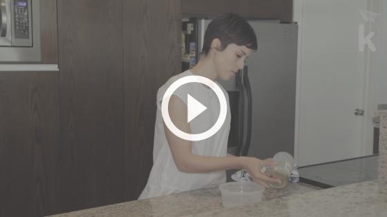desmame - descongelando leite materno