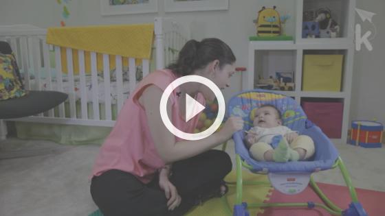 quando o bebê começa a falar - imitando palavras