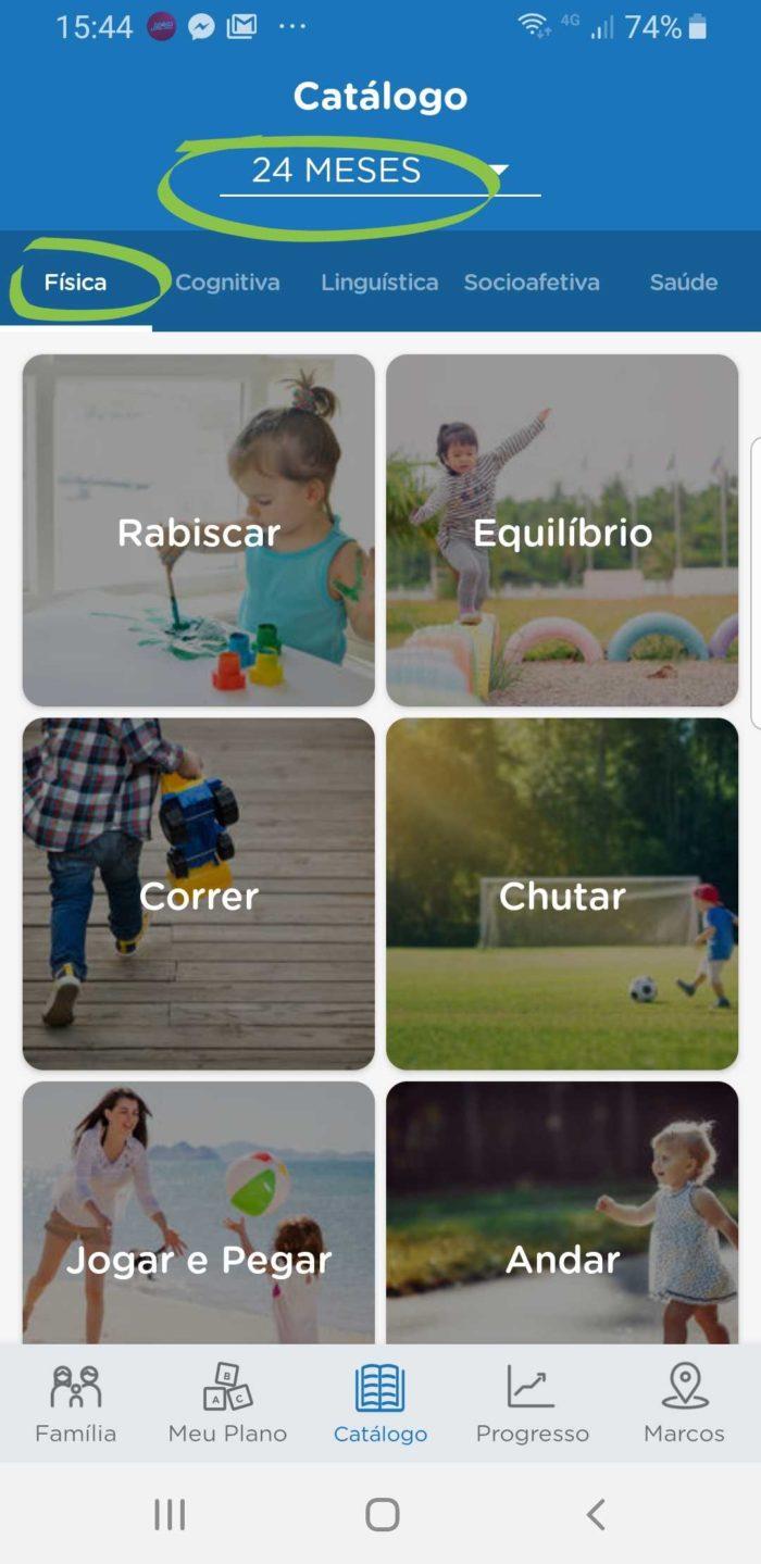 brincadeiras para crianças de 2 anos