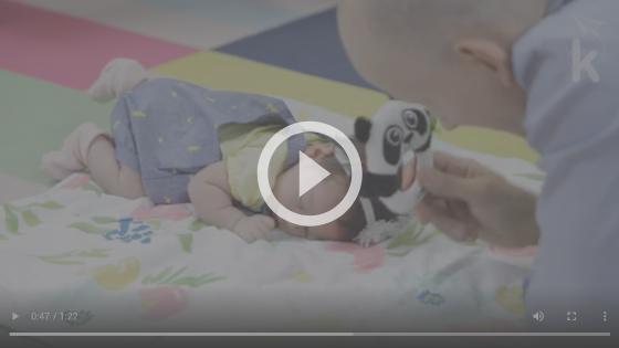 atividade tummy time para recém-nascido