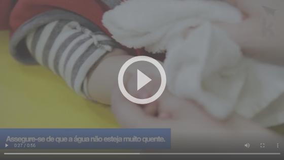 atividade sensorial para recém-nascido
