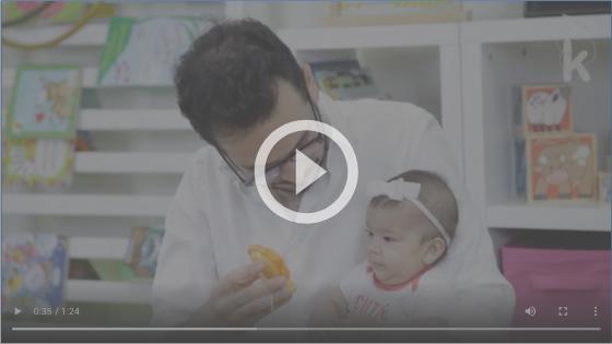 Atividade para bebê segurar a cabeça