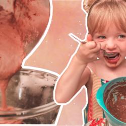 Mousse de chocolate da Liliu | Vegano e sem açúcar