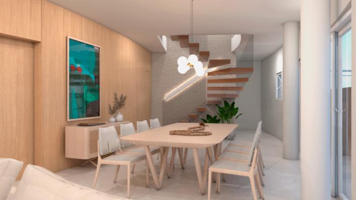 projeto da sala nova com arquiteta